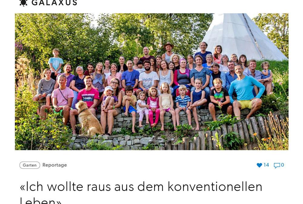 """""""Ich wollte raus aus dem konventionellen Leben"""" auf Galaxus.ch"""